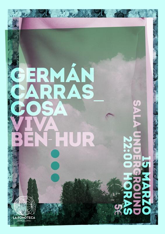 portada del evento ÚNICOS Y DIFERENTES: GERMÁN CARRASCOSA Y VIVA BEN-HUR