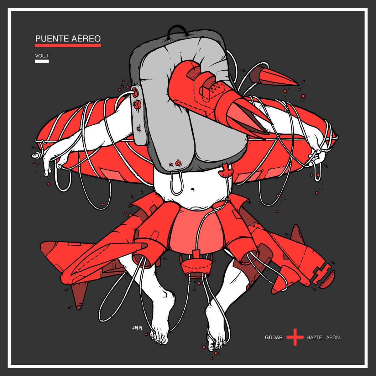 portada del album Puente Aéreo vol.1: Gúdar + Hazte Lapón