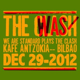 portada del disco We Are Standard Plays The Clash