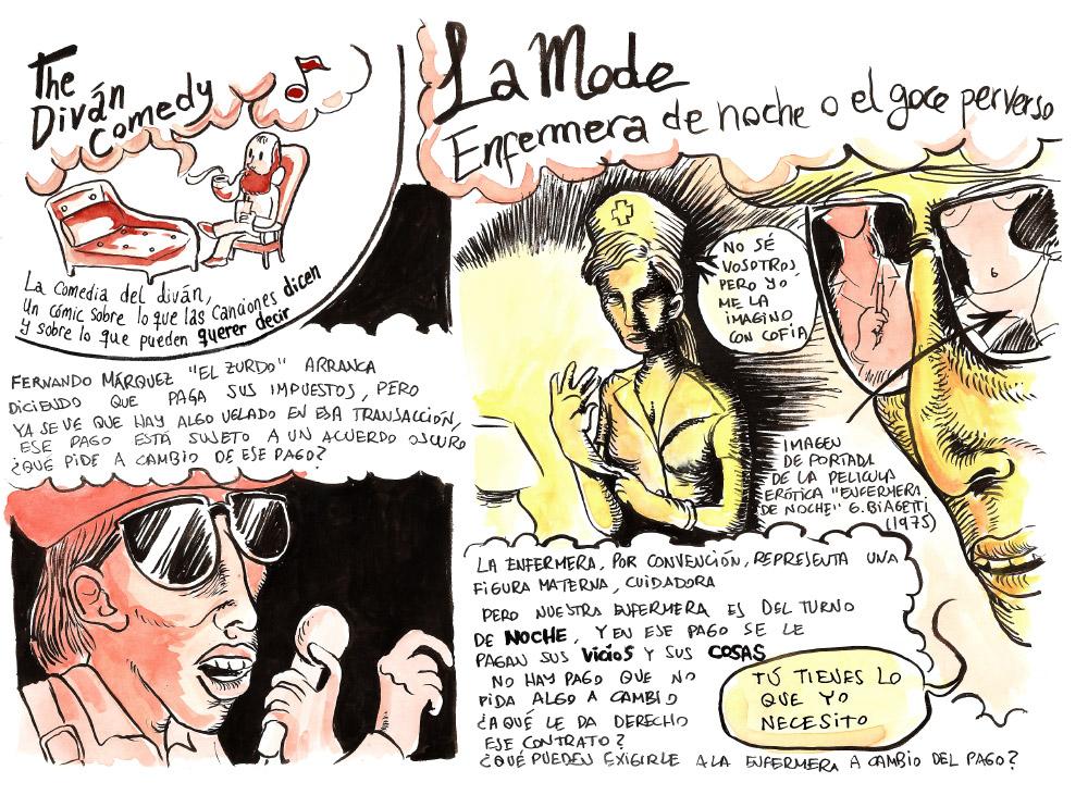 The divan comedy - La Mode 01