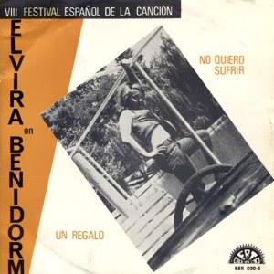 portada del disco Elvira en Benidorm