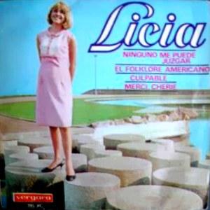 portada del disco Ninguno Me Puede Juzgar / El Folklore Americano / Merci, Cherie / Culpable
