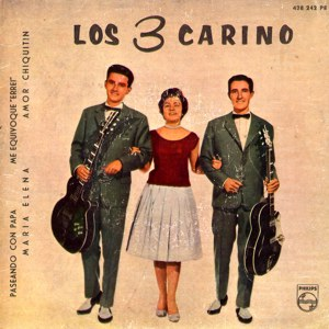 portada del disco Paseando con Papá / María Elena / Me Equivoqué / Un Amor Chiquitín
