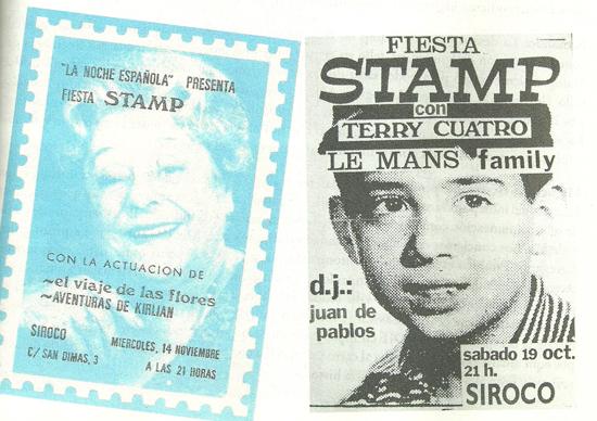 Fiestas Stamp
