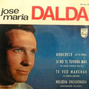 portada del disco Anochece / Si No Te Tuviera Más / Te Veo Marchar / Melodía Encadenada
