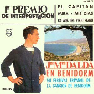 portada del disco José María Dalda En Benidorm