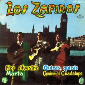 portada del disco Flor Silvestre / Quizás, Quizás / Marta / Camino de Guadalupe