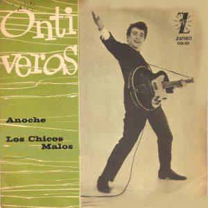 portada del disco Anoche / Los Chicos Malos