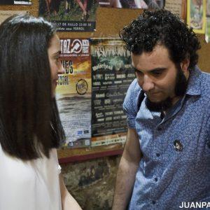 Andrea Lapique y Fernando F. Rego
