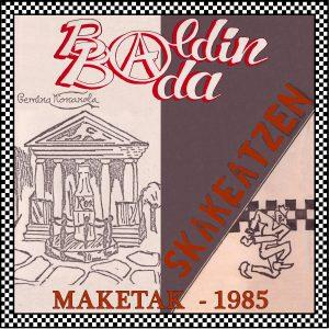 portada del disco Maketak 1985
