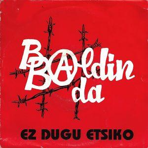 portada del disco Ez Dugu Etsiko / Afrikatik Oihartzunak