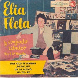 portada del disco Dile Que se Ponga / De la Mano / Agapi Mu / Mi-Tu-Su