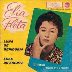 portada del disco Eres Diferente / Luna de Benidorm