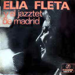 portada del disco Elia Fleta y el Jazztet de Madrid