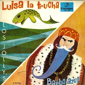 portada del disco Luisa, la Trucha