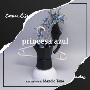 portada del disco Princesa Azul