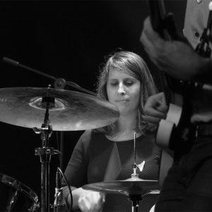 Elisenda Daurà, batería de Fred i Son