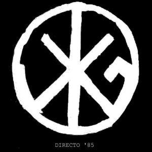 portada del disco Directo '85
