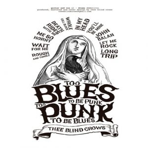 portada del disco Too Blues To Be Punk, Too Punk To Be Blues