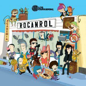 portada del disco Academia Rocanrol