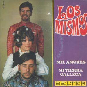 portada del disco Mil Amores / Mi Tierra Gallega