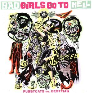 portada del disco Pussycats / Besttias: Bad Girls Go To Hell