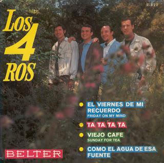 portada del album El Viernes de mi Recuerdo / Ta Ta Ta Ta / Viejo Café / Como el Agua de Esa Fuente