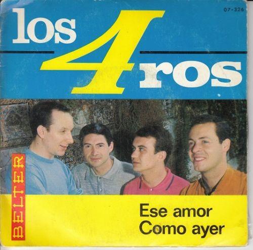 portada del album Ese Amor / Como Ayer