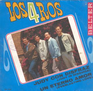 portada del album Judy con Disfraz