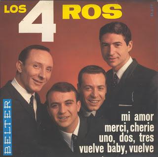portada del album Mi Amor / Merci, Cherie / Uno, Dos, Tres, Vuelve, Baby, Vuelve