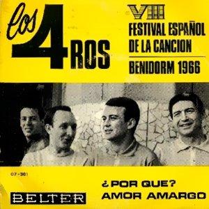 portada del album ¿Por Qué? / Amor Amargo