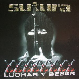 portada del disco Luchar y Beber