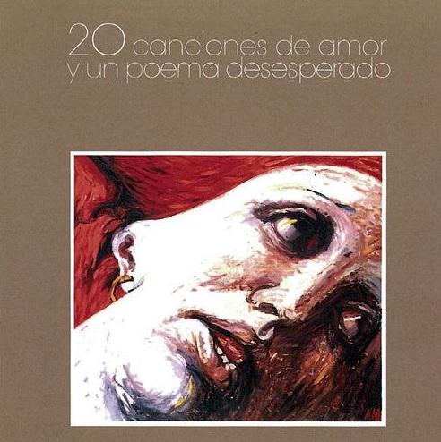 portada del album 20 Canciones de Amor y un Poema Desesperado
