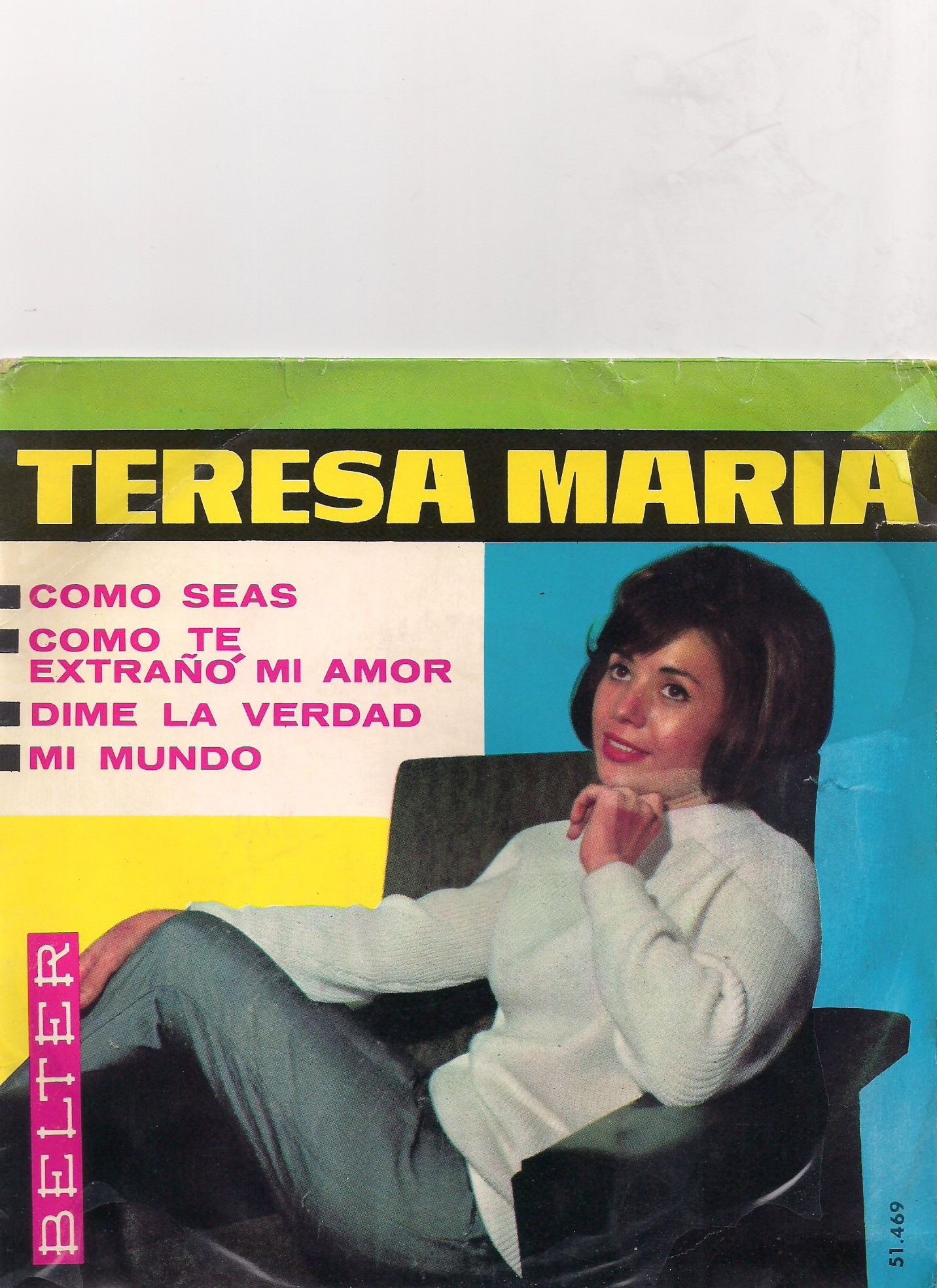 portada del album Como Seas / Como te Extraño mi Amor / Dime la Verdad / Mi Mundo