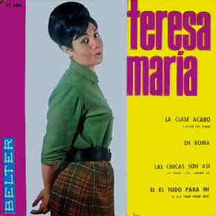 portada del album Las Chicas son Así / Él Es Todo para Mí / La Clase Acabó / En Roma