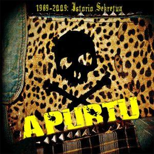 portada del disco 1989-2009 Istoria Sekretua