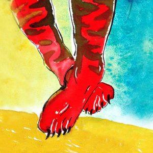 portada del disco Atrás Tigre