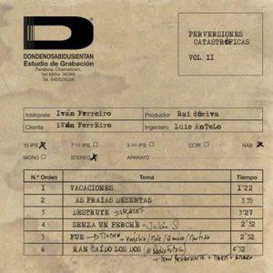 portada del disco Perversiones Catastróficas Vol. II