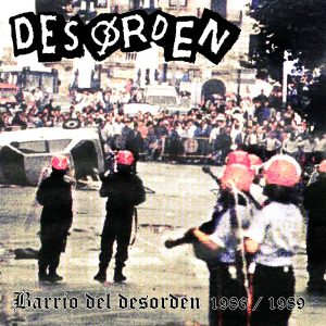portada del disco Barrio del Desorden 1986 - 1989