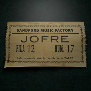 portada del album Jofre