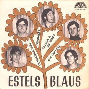 portada del disco Comprende Niña / Balada a un Héroe / Ole con Ole / Olvídalas