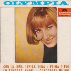 portada del disco Prima o Poi / Lo Tendrás Amor / Conocerte Mejor / Con la Luna, Lunita, Luna