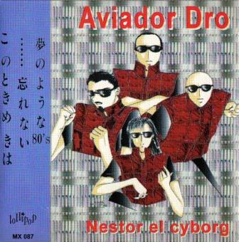 portada del album Nestor el Cyborg