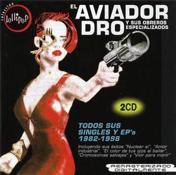 portada del album Todos sus Singles y EP's 1982-1998
