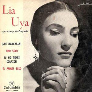 portada del disco ¡Qué Maravilla! / Uno Solo / Tú no Tienes Corazón / El Primer Beso