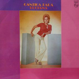 portada del disco Cantiga para Luciana
