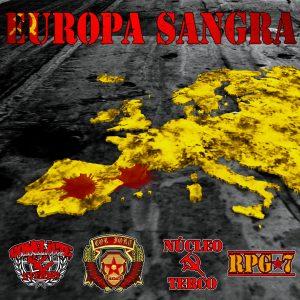 portada del disco Europa Sangra