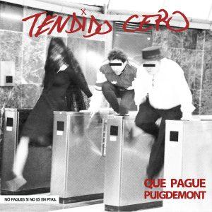 portada del disco Que Pague Puigdemont