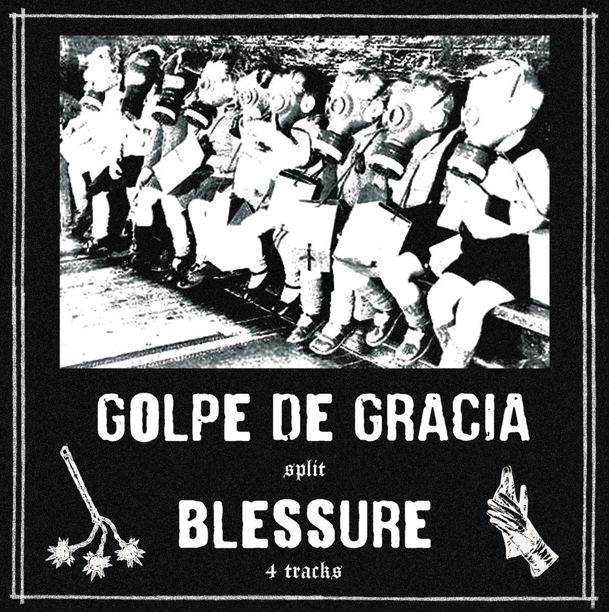 portada del album Golpe de Gracia / Blessure