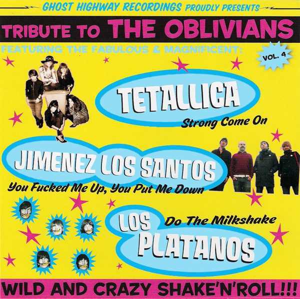 portada del album Tribute to The Oblivians vol. 4